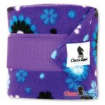 CE polo purple flower