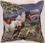 mustangs pillow